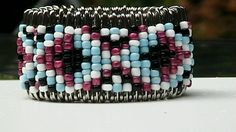 Custom Safety Pin Tribal Cuff Wrist Beaded Bracelet Free Shipping Code 0dolla4u