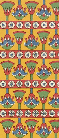 Ancient Egypt pattern Ancient Egypt Fashion, Ancient Egypt Art, Egyptian Symbols, Egyptian Art, Egyptian Mythology, Oriental, Textile Patterns, Print Patterns, Egypt Design