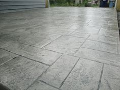 A Chicago and Chicago Suburbs Stamped Concrete Contractor . Concrete, Stamped Concrete Driveway, Pouring Concrete Slab, Contemporary Garden, Decorative Concrete Driveways, Concrete Footings, Stamped Concrete, Garden Makeover, Concrete Decor