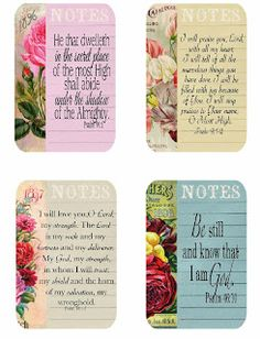 Free scripture cards by Shoregirl's Creations Scripture Memorization, Scripture Cards, Printable Bible Verses, Printable Paper, Album Maker, Verses For Cards, Framed Quotes, Book Markers, Card Sentiments