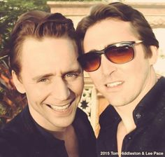 Wow Lee Pace and Tom Hiddleston