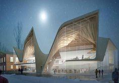 New Cultural Centre in Køge, Denmark of Diller Scofidio + Renfro