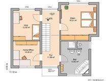 Bauhaus Modus von Kern-Haus   Offene Raumstruktur