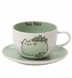 Pusheen Tea-Rex Cup and Saucer Set