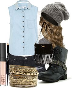 """""""Casual."""" by melaniexxxx ❤ liked on Polyvore"""