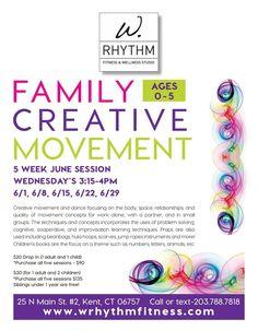 Family Creative Movement with Kaitlin Clark