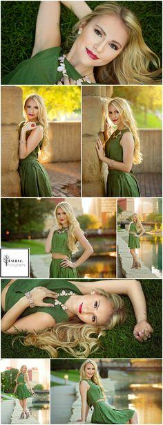 Anna Hayworth | Class of 2017 Senior | Senior Girl Poses | Urban | Park | Nature | Summer | Laura C. Photography 2016