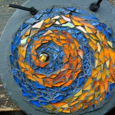 Margaret Almon Mosaic Mandala posted by Pennsylvania Guild of Craftsmen, via Flickr