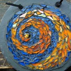 Margaret Almon Mosaic Mandala posted by Pennsylvania Guild of Craftsmen, via Flickr