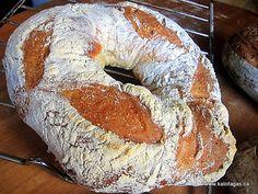 Artisan Bread in Almost 5 Minutes Greek Bread, Bread Winners, Greek Cooking, Bread N Butter, Dessert Bread, Artisan Bread, Bread Rolls, Greek Recipes, Different Recipes