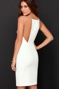 It's hard to keep still with all the excitement surrounding the Keepsake Restless Heart Ivory Midi Dress! Princess seams flow through the fitted waistline with slit. Evening Dresses, Summer Dresses, Short Dresses, Formal Dresses, Party Dresses, Dress To Impress, Beautiful Dresses, Ideias Fashion, Fashion Dresses