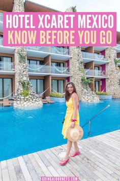 Here are some things to know before you go to Hotel Xcaret Mexico in the Riviera Maya! This is one of the best all-inclusive resorts to visit near Cancun. | hotel xcaret Mexico tips | hotel xcaret Mexico fotos | resorts in playa del carmen Mexico | resorts near cancun Mexico | best all-inclusive resorts in Mexico | xcaret Mexico pictures