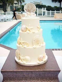 Captivating Wedding Cake  DeClare Cakes, Charleston, SC   Photo By MCG Photography |  New Traditional | Pinterest | Charleston SC, Wedding Cake And Weddings