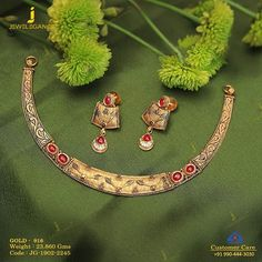 Get In Touch With us on Gold Necklace Simple, Gold Jewelry Simple, Stylish Jewelry, Necklace Set, Gold Mangalsutra Designs, Gold Jewellery Design, Antique Necklace, Antique Jewelry, Gold Bangles