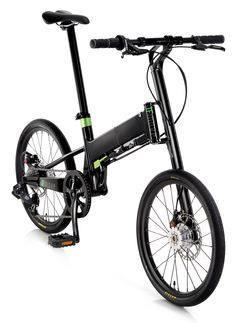 Pacific Cycles IFMOVE aluminum folding bike with single side arm frame and fork, disc brakes folds in about 10 seconds and rolls when folded - www.UrbanBikeFitters.com