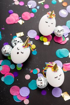 Make your Easter egg basket magical with this unicorn Easter eggs DIY tutorial.