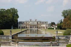 The magnificent 18th century Villa Pisani, known as the Versailles of the Brenta River. This villa has 140 rooms.