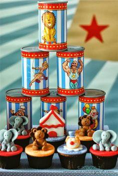 Encontrando Ideias: Festa Circo!!!