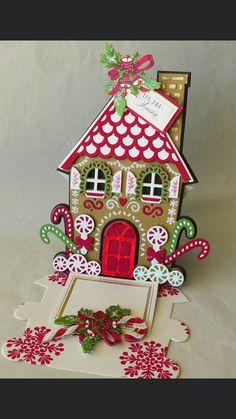 Diy Christmas Decorations Easy, Diy Christmas Cards, Winter Christmas, Christmas Time, Christmas Crafts, Christmas Ornaments, Anna Griffin Cards, Christmas Inspiration, Homemade Cards