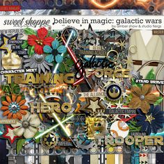 Believe in Magic: Galactic Wars Amber Shaw & Studio Flergs