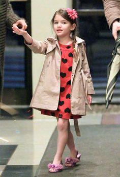 Celebrity Style: Suri Cruise in babyGap - The Budget Babe