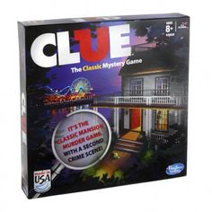 Hasbro Clue - The Classic Mystery Game, Red scarlet Toys For Boys, Games For Kids, Games To Play, Board Game Store, Clue Games, Best Gifts For Tweens, Tween Girl Gifts, Mystery Games, Classic Board Games
