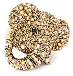 Andrew hamilton crawford gold elephant ring http www endless com