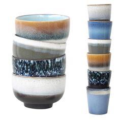 """""""#hkliving #ceramics so original! #handmade #ceramicbowl #handmadeceramics #ceramicmugs #70smugs #retroceramics #dutchdesign #limited availability…"""""""
