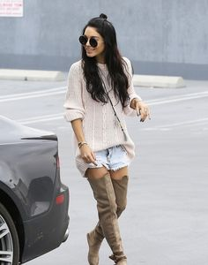 """allblackerrthingus: """"daily—celebs: """"2/27/15 - Vanessa Hudgens going to a meeting in LA. """" """""""