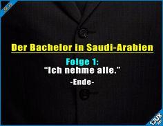 Ganz schnell vorbei. #Bachelor #DerBachelor #Fernsehen #Witz #Witze #Humor