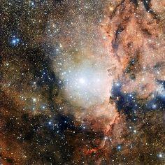 69 отметок «Нравится», 1 комментариев — juniorbatista (@mix_ciencia) в Instagram: «NGC 6193 é um aglomerado aberto na direção da constelação de ara.»