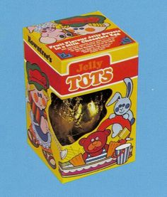 Rowntrees Jelly Tots easter egg from 1987 Childhood Images, 1980s Childhood, My Childhood Memories, Vintage Sweets, Retro Sweets, 90s Sweets, Old Fashioned Sweets, Jelly Tots, Vintage Packaging
