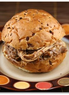 Root Beer Pulled Pork Sandwiches #recipe