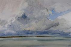 Sky Study, Morar, James Morrison at Gallery 8, 8 Duke Street, London - The Scottish Gallery, Edinburgh - Contemporary Art Since 1842