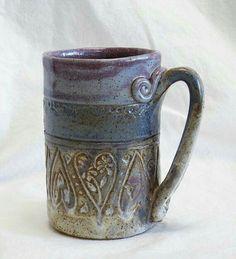 Hand Built Pottery, Slab Pottery, Pottery Mugs, Ceramic Pottery, Pottery Art, Clay Mugs, Ceramic Clay, Ceramic Bowls, Pottery Designs