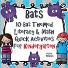 FREE quick print and go bat themed pack to supplement my October bat unit. This unit includes 10 Literacy and Math activities that are kindergarten appropriate. Here is what you get. Bat Cave Craft Bat Facts Emergent Reader-- Bat Facts Story Sort Bat Labeling--Bat Can Have Are Chart--Bat Rhyming Bat begins with B-Beginning Sounds--Bat Addition Bat Symmetry Printable-- We See A Bat Sentence Builder--What drives you batty? Writing Prompt