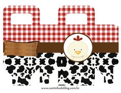 La Granja Bebés: Cajas para Imprimir Gratis. First Birthday Party Decorations, Baby Shower Decorations, Party Themes, Farm Animal Party, Farm Party, Baby First Birthday, First Birthday Parties, Baby Shower Souvenirs, Printable Box