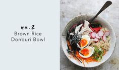 Borwn Rice Donburi