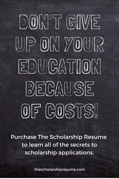 Win Way Resume Simple College Is Expensive Scholarships Are A Great Way To Pay For .