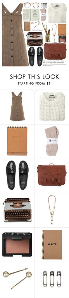 """""""Nothing But Thieves - Particles"""" by annaclaraalvez ❤ liked on Polyvore featuring Topshop, Acne Studios, Johnstons of Elgin, FitFlop, Taylor & Mason, Forever 21, NARS Cosmetics, Brika, Monsoon and Tim Holtz"""