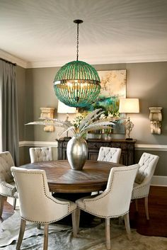 Dining Room By LGB Interiors Lgbinteriors.com Round Dinning Room Table,  Round Tables,