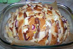 Luxusní jídlo ze starého chleba - Recept na TvojeKuchařka.cz G 1, Baked Potato, Muffin, Food And Drink, Pudding, Vegetarian, Bread, Cooking, Breakfast