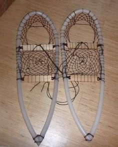 Snowshoes make it possible for people to walk on snow. Build a pair from wood, plastic, even cardboard: https://diy.org/skills/yeti/challenges/684/make-snowshoes
