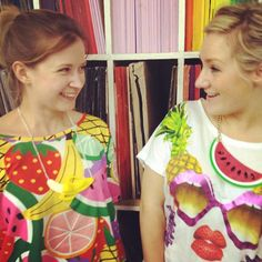 We're feeling fruity in our Kent studio today!