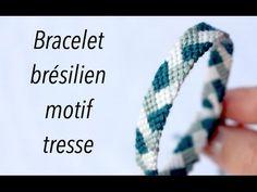 DIY : bracelet brésilien motif tresse ✨ Marion Blush - YouTube