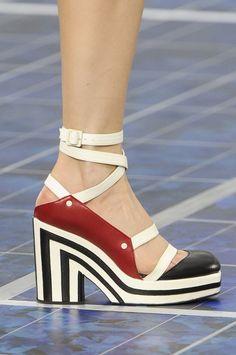 Chanel ~ Spring 2013 Shoes | Paris Fashion Week