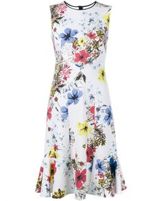 ERDEM | Jana Carmel Floral Dress