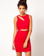 Club L Cut Out Dress
