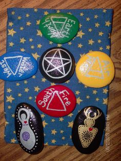 Mini Altar/Ritual Elemental/Directional by TheSimplifiedWitch, $10.00