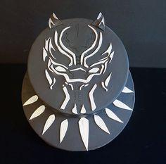 Black Panther birthday cake   Superhero Party Ideas ...